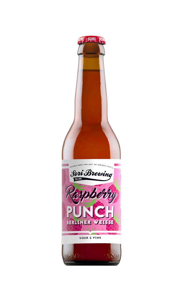 Sori Raspberry Punch 4% 0,33l