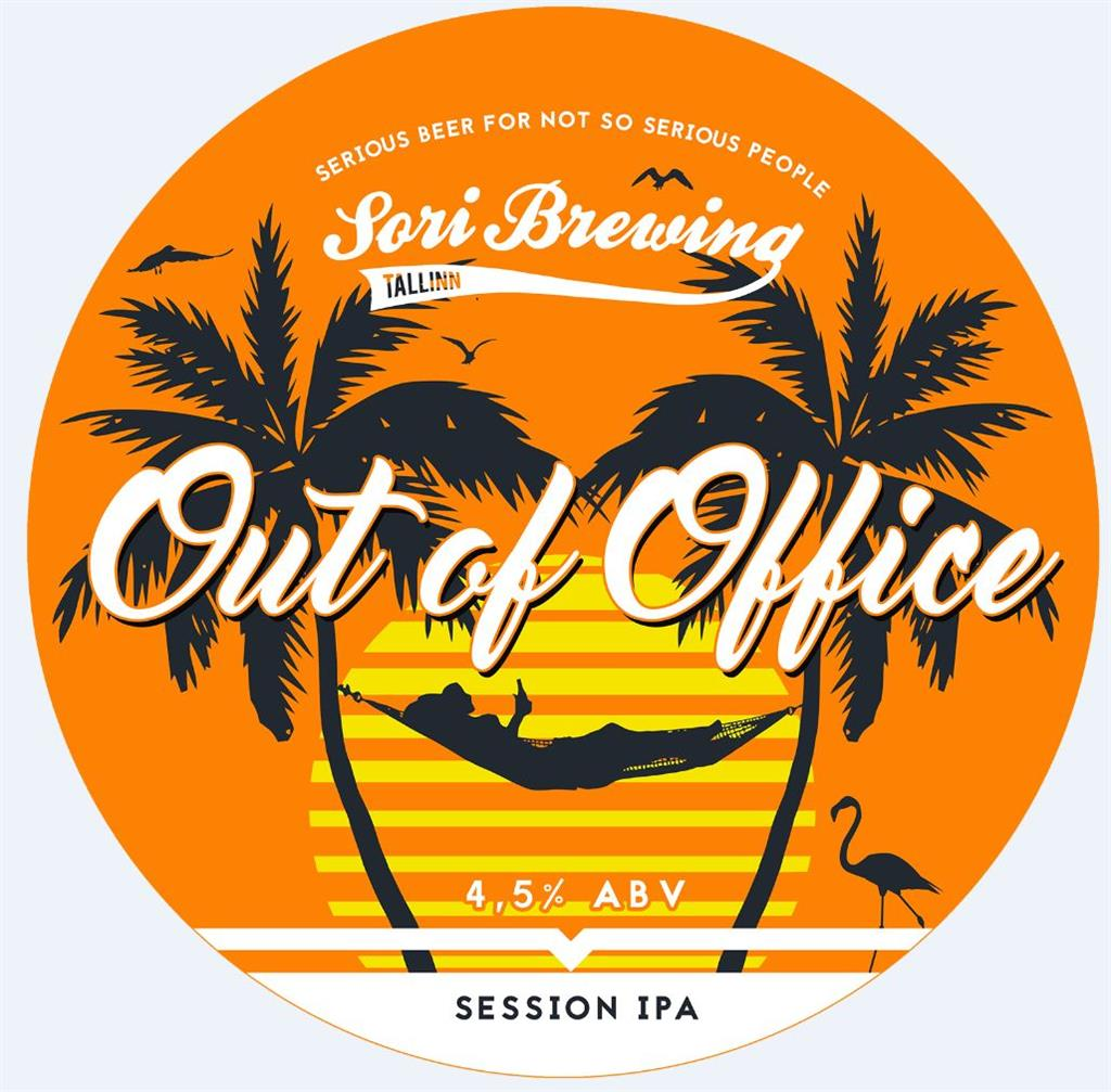 Sori Out of Office IPA 4.5% 30l