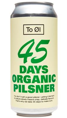 To Öl 45 days pilsner 4.7% 0,44lcan