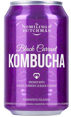 SD BlackCurrant Kombucha 0,33l can